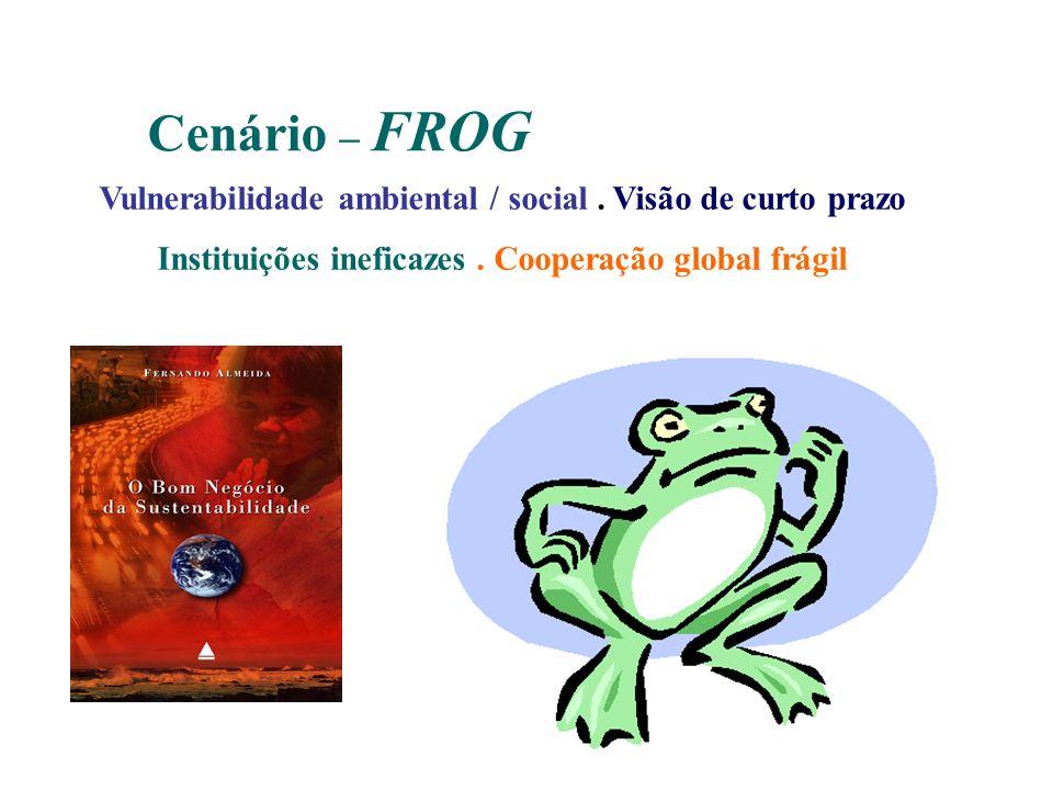 Cenário – FROG Vulnerabilidade ambiental / social .