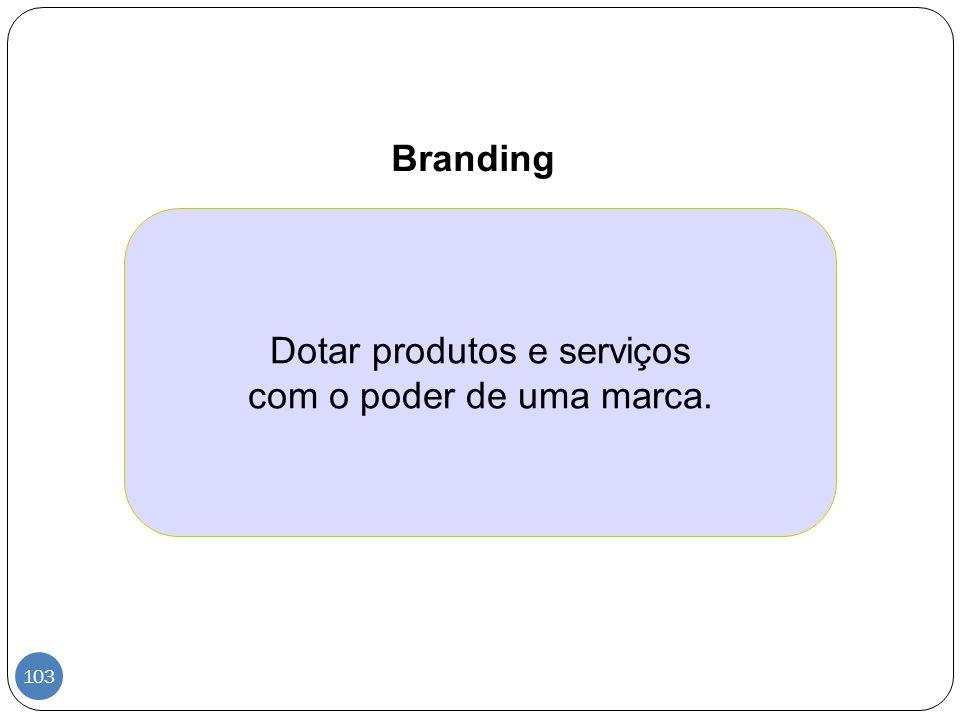 Dotar produtos e serviços