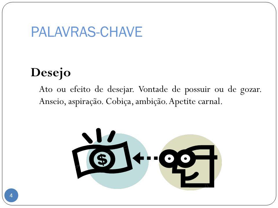 PALAVRAS-CHAVE Desejo