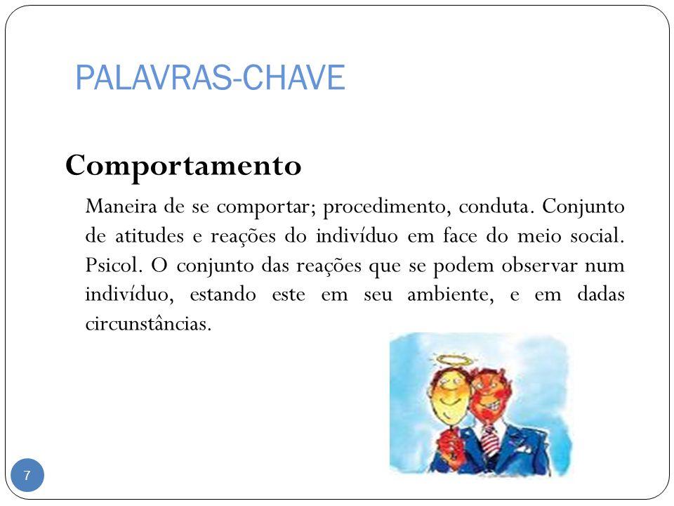 PALAVRAS-CHAVE Comportamento