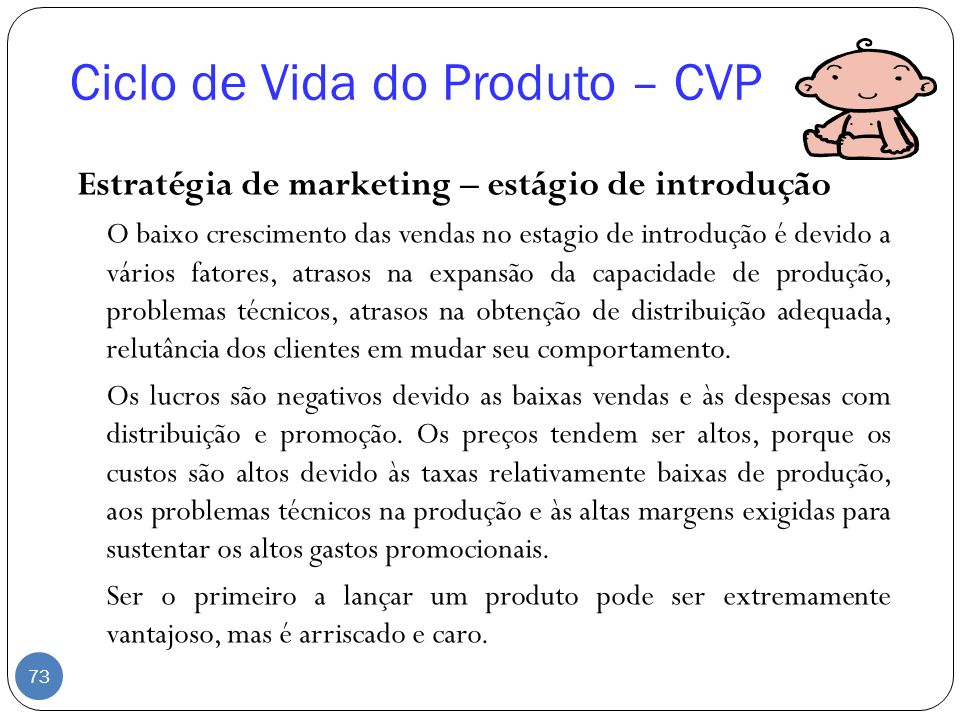 Ciclo de Vida do Produto – CVP