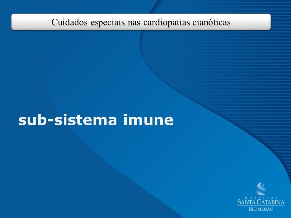 Cuidados especiais nas cardiopatias cianóticas