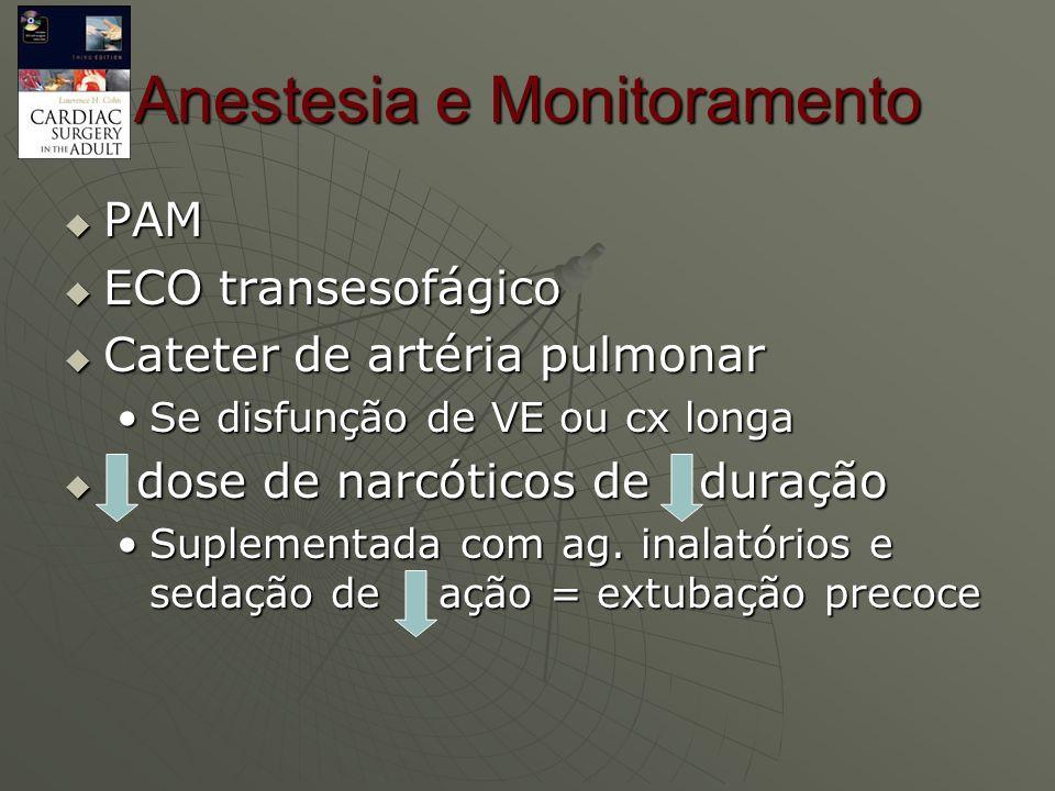 Anestesia e Monitoramento