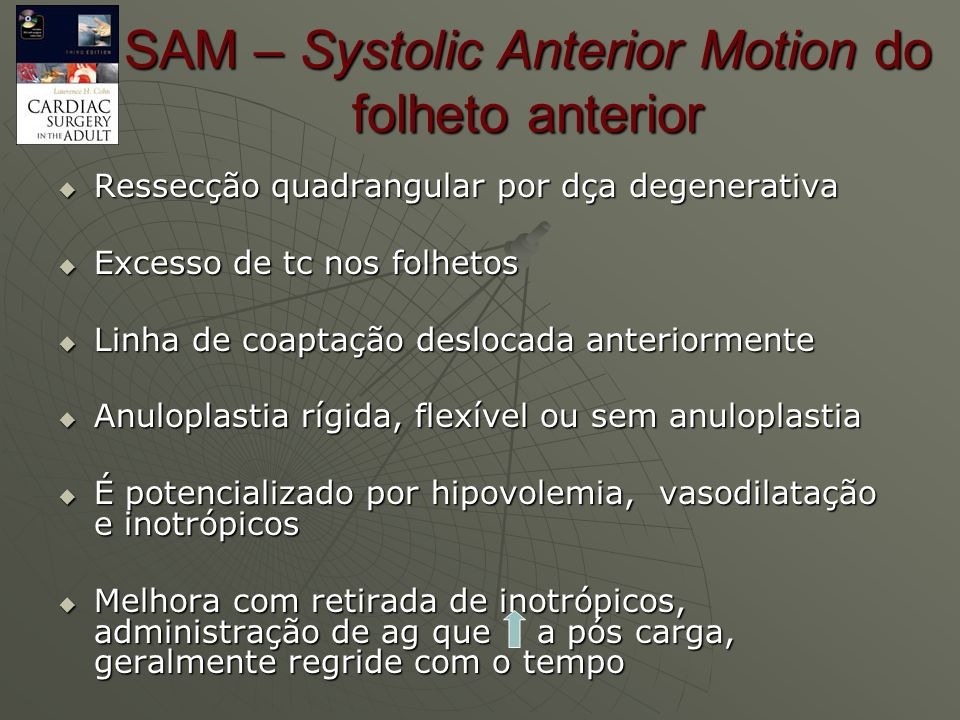 SAM – Systolic Anterior Motion do folheto anterior