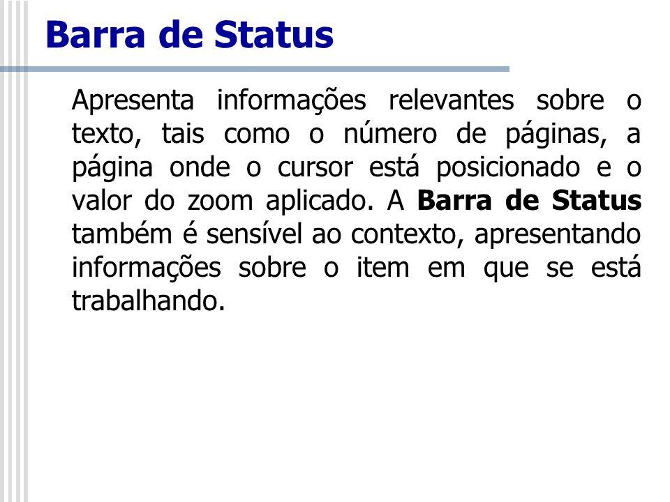 Barra de Status