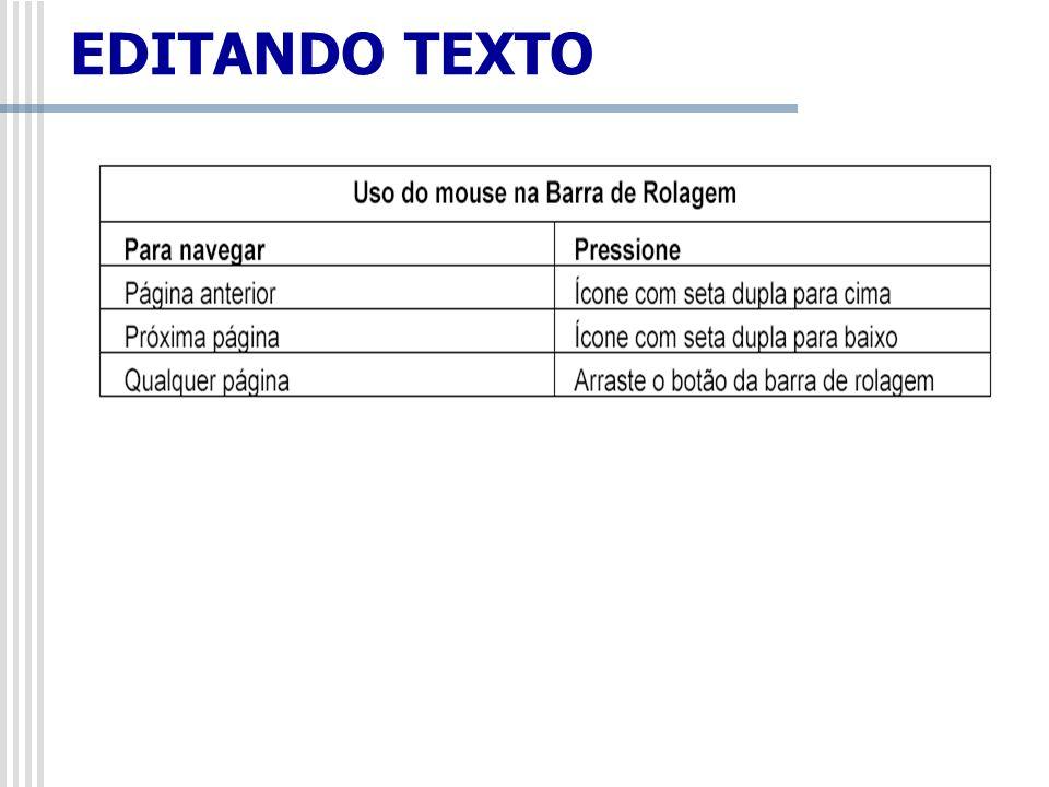 EDITANDO TEXTO