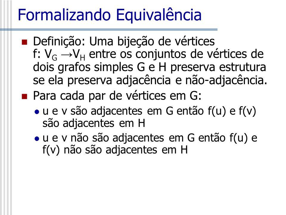 Formalizando Equivalência