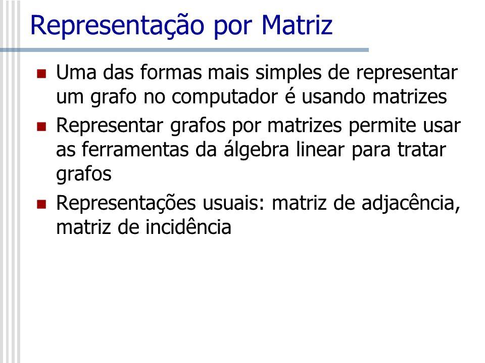 Representação por Matriz
