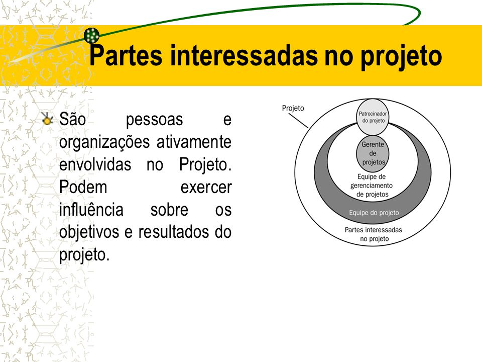 Partes interessadas no projeto