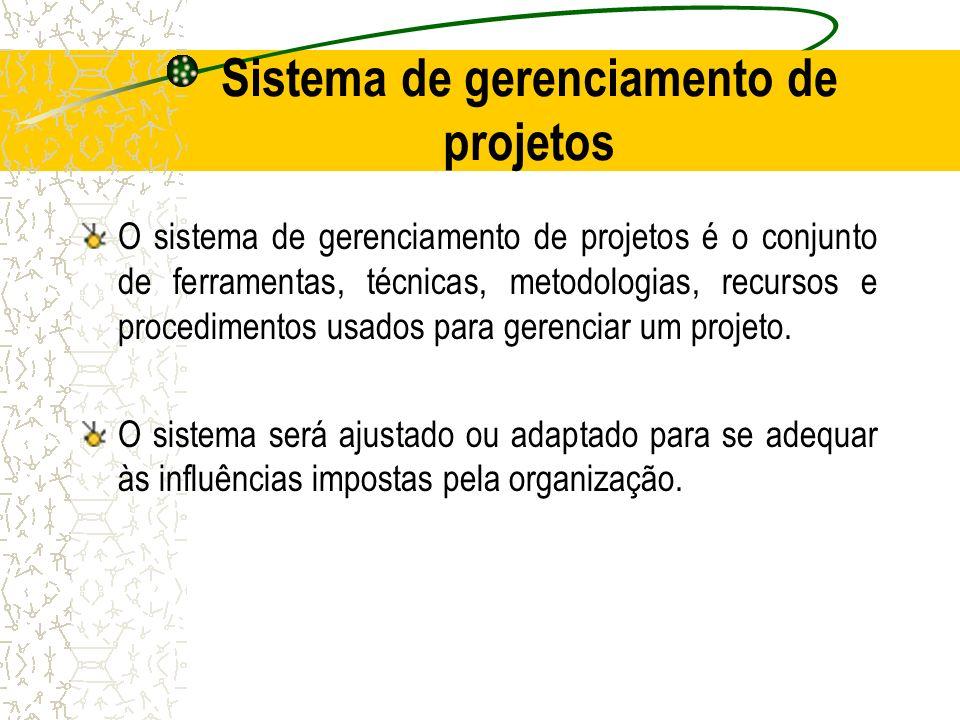 Sistema de gerenciamento de projetos
