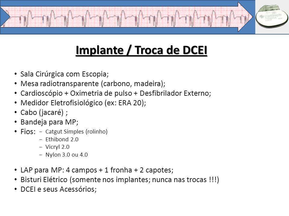 Implante / Troca de DCEI