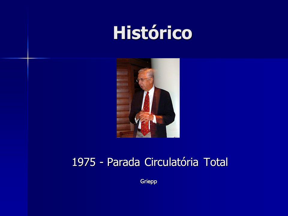 Histórico 1975 - Parada Circulatória Total Griepp