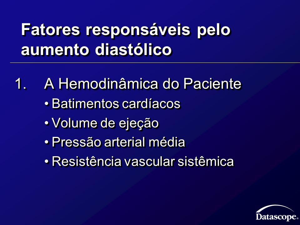 Fatores responsáveis pelo aumento diastólico