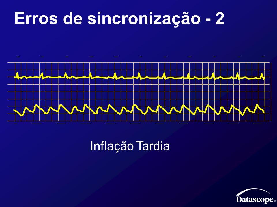 Erros de sincronização - 2