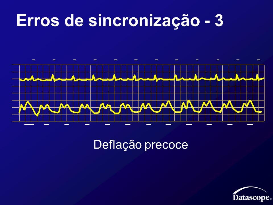 Erros de sincronização - 3