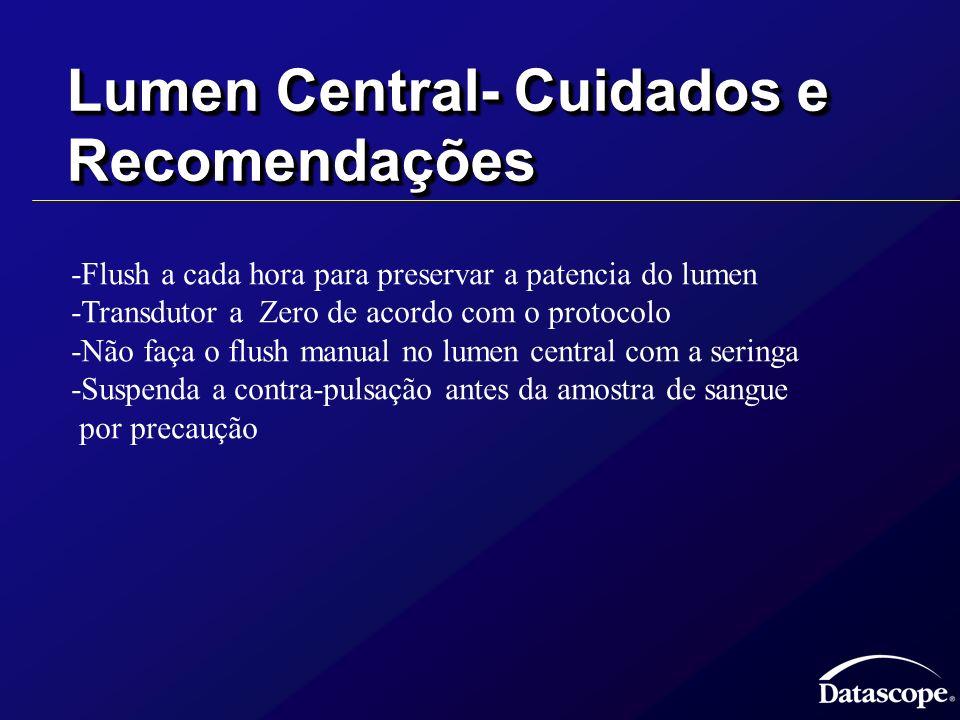 Lumen Central- Cuidados e Recomendações