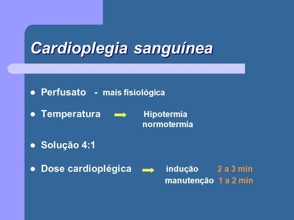 Cardioplegia sanguínea