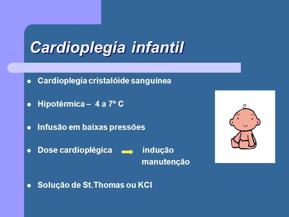 Cardioplegia infantil