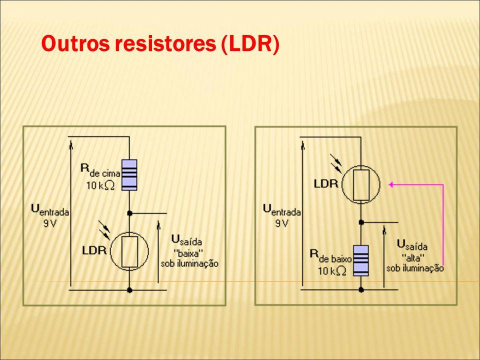 Outros resistores (LDR)