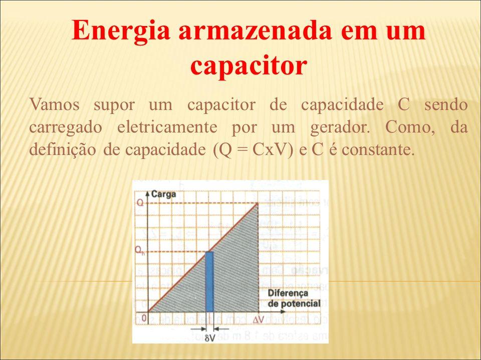 Energia armazenada em um capacitor