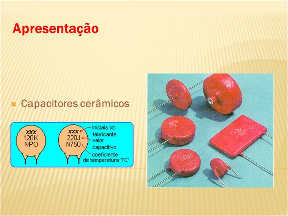 Apresentação Capacitores cerâmicos