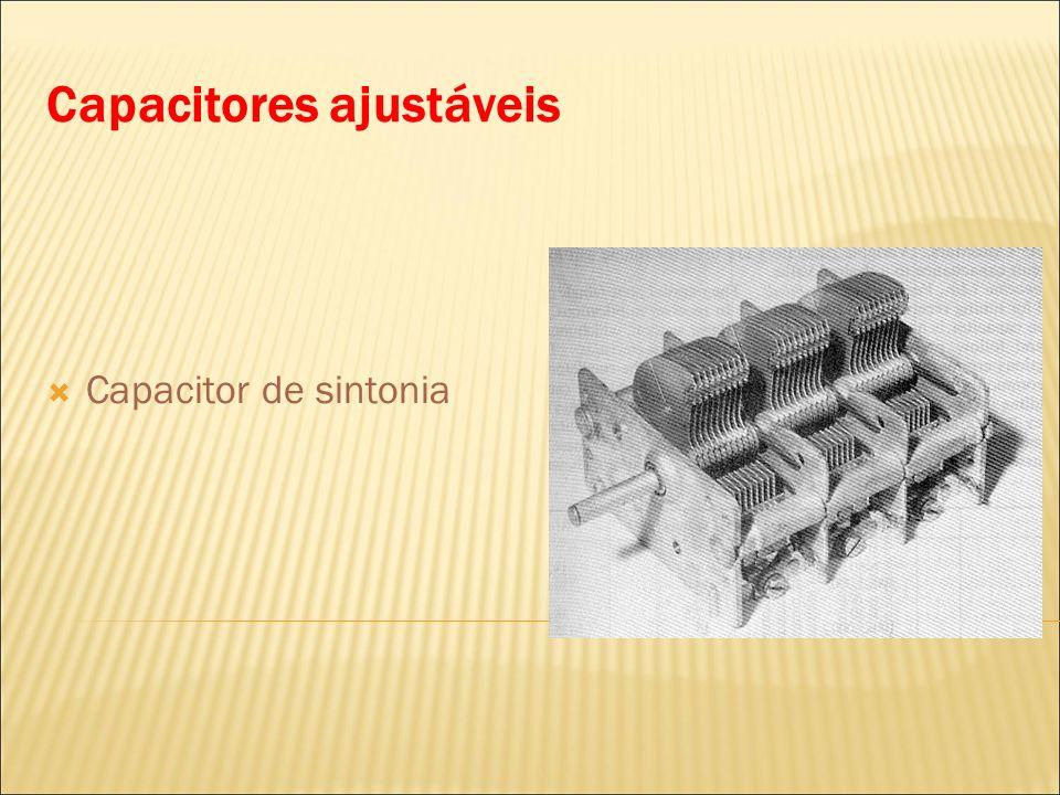Capacitores ajustáveis