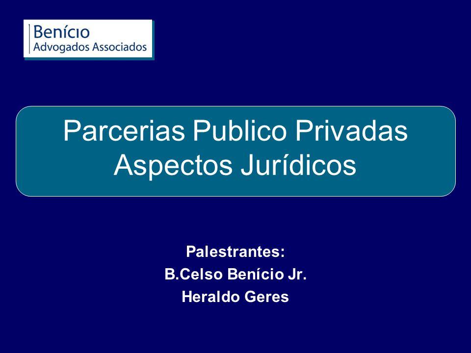 Parcerias Publico Privadas Aspectos Jurídicos