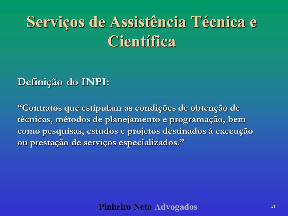 Serviços de Assistência Técnica e Científica