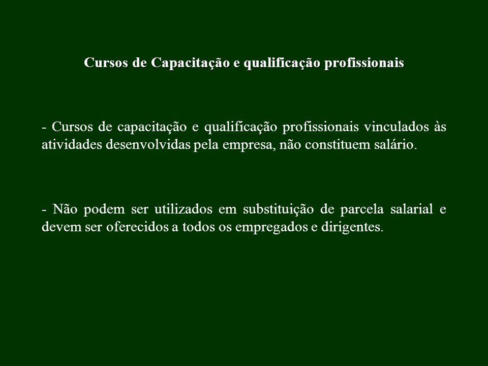 Cursos de Capacitação e qualificação profissionais