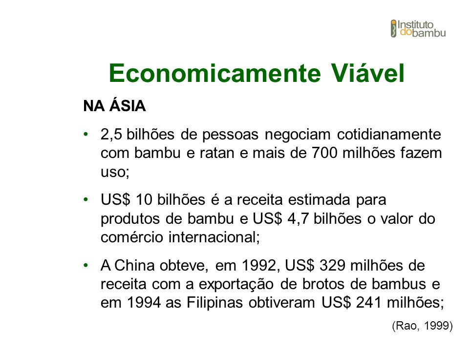 Economicamente Viável