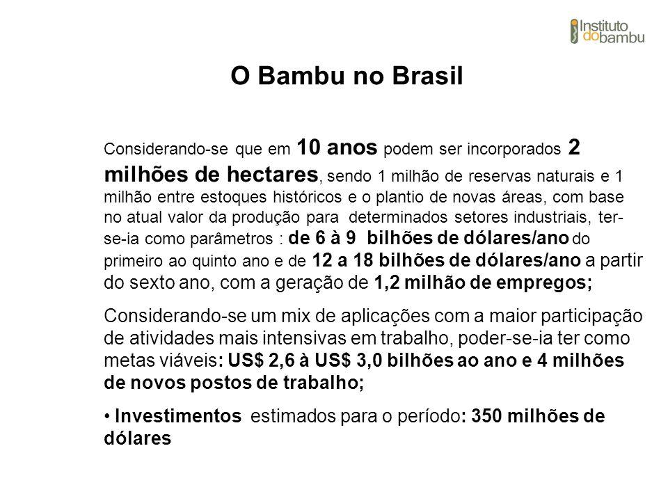 O Bambu no Brasil