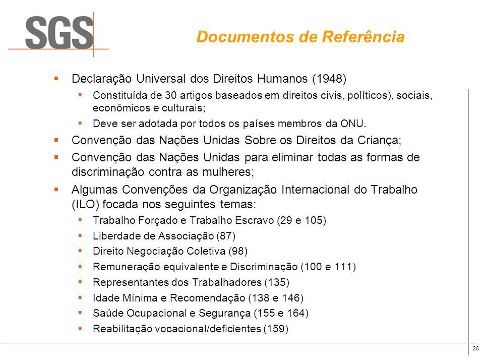 Documentos de Referência