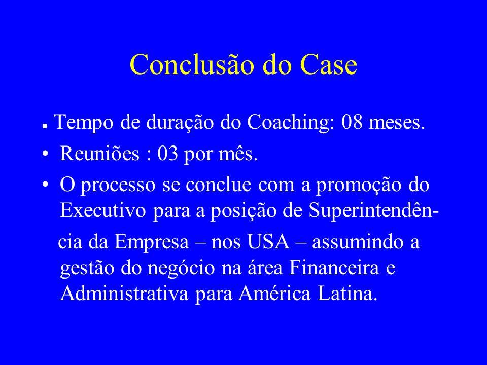 Conclusão do Case Reuniões : 03 por mês.