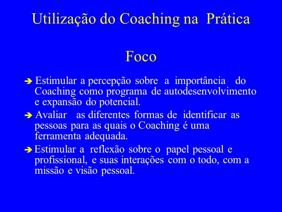 Utilização do Coaching na Prática Foco