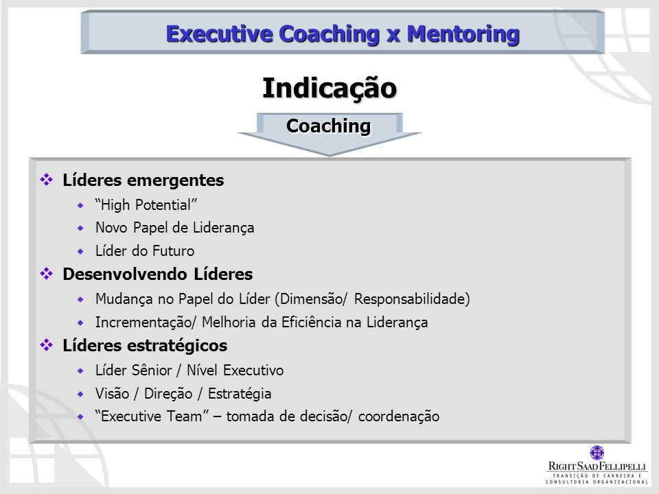Executive Coaching x Mentoring