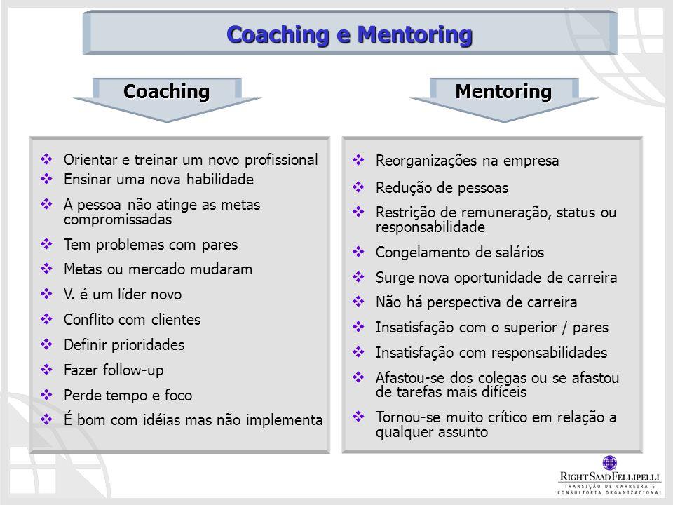 Coaching e Mentoring Coaching Mentoring