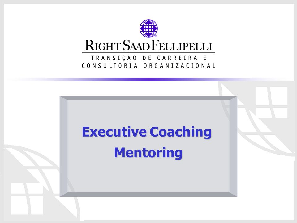 Executive Coaching Mentoring