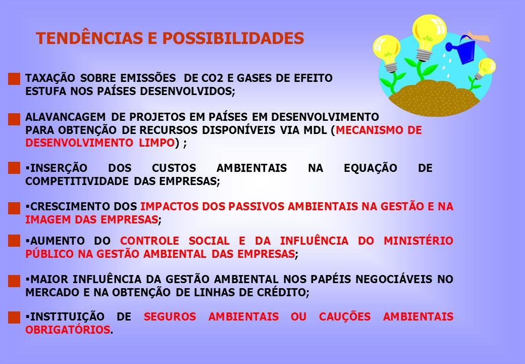 TENDÊNCIAS E POSSIBILIDADES