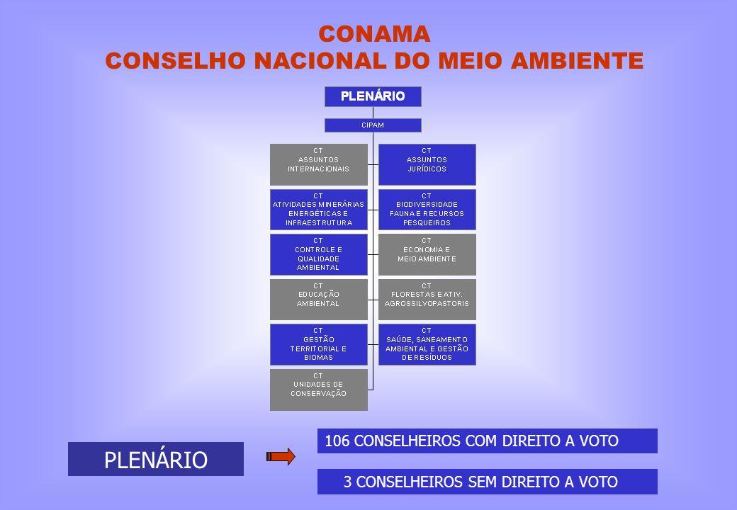CONAMA CONSELHO NACIONAL DO MEIO AMBIENTE