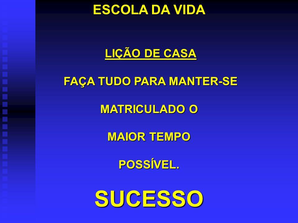 FAÇA TUDO PARA MANTER-SE