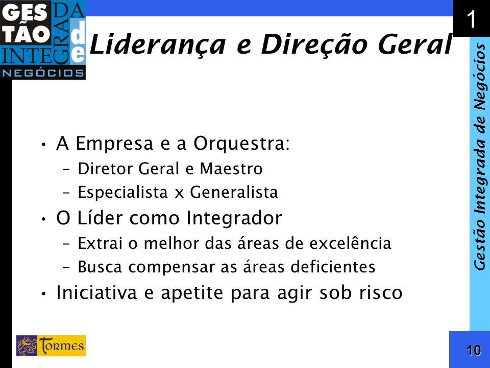 Liderança e Direção Geral