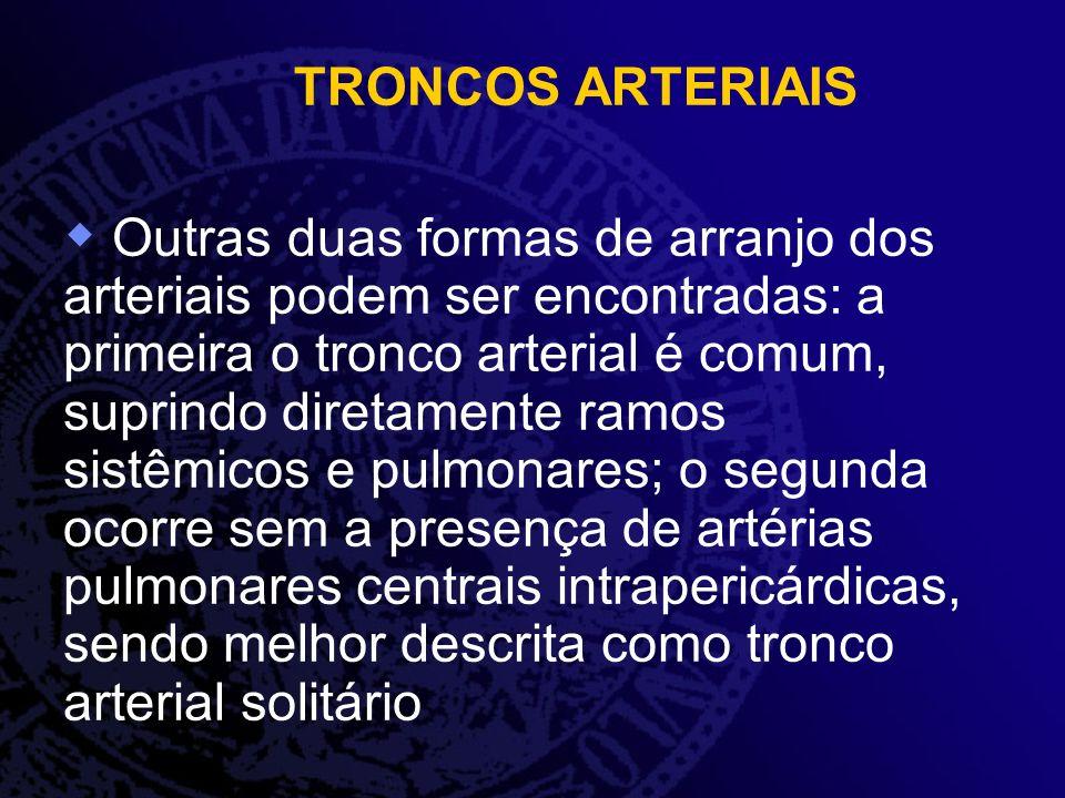 TRONCOS ARTERIAIS