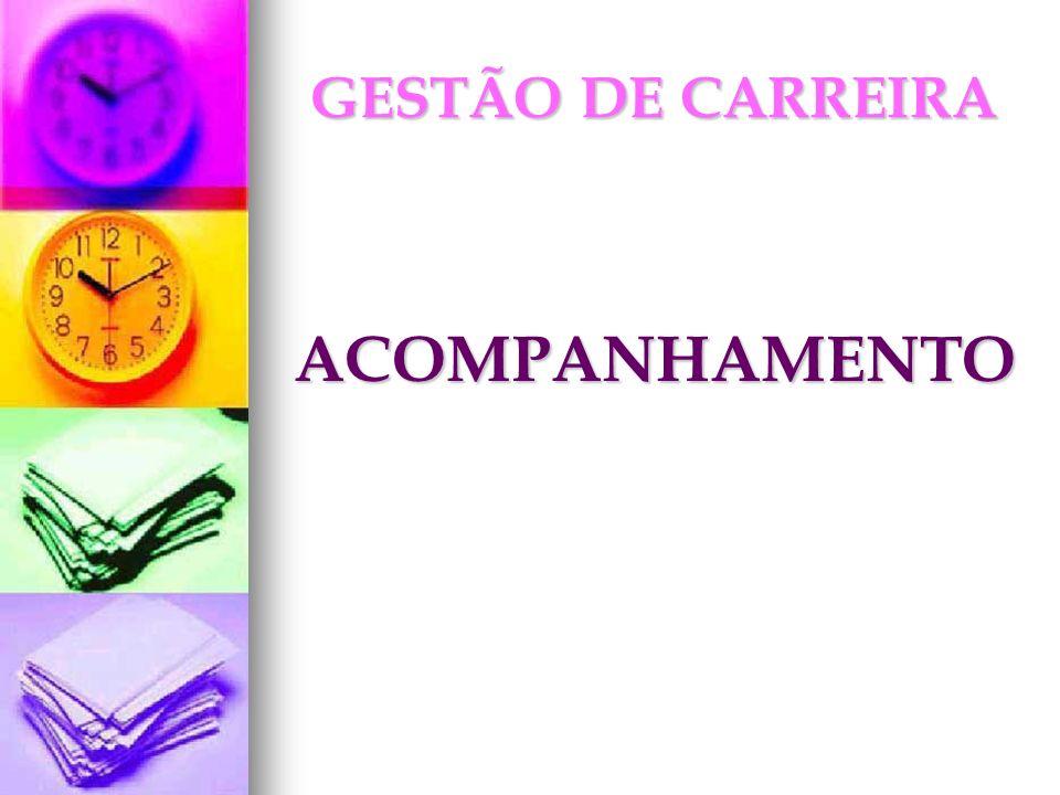GESTÃO DE CARREIRA ACOMPANHAMENTO