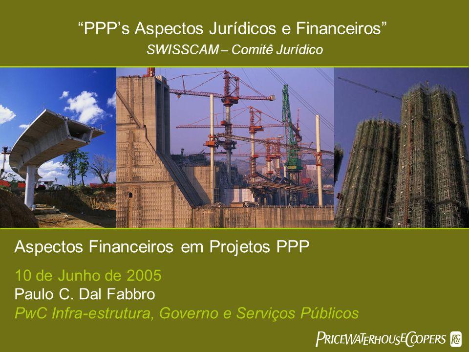 PPP's Aspectos Jurídicos e Financeiros SWISSCAM – Comitê Jurídico