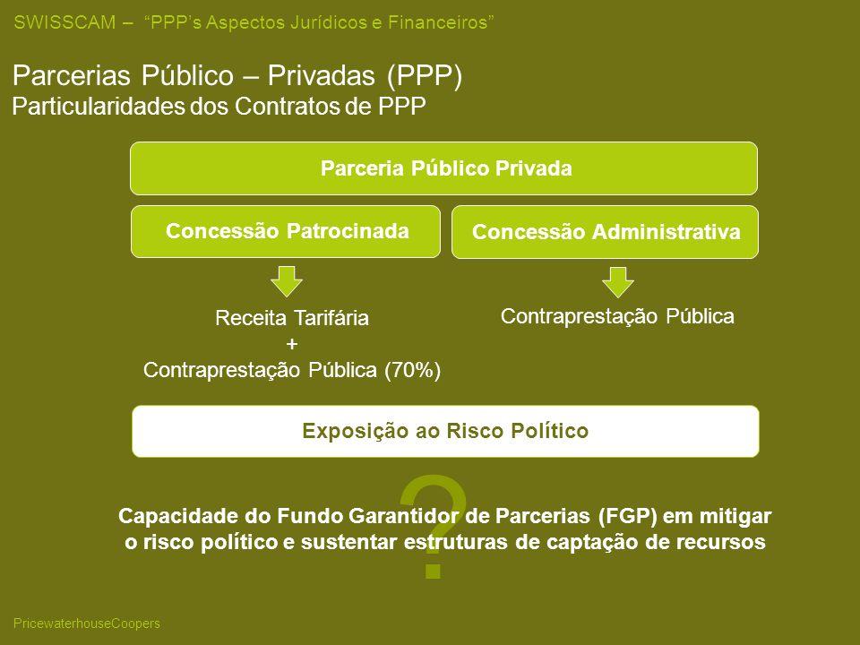 25/03/2017 Parcerias Público – Privadas (PPP) Particularidades dos Contratos de PPP. Parceria Público Privada.