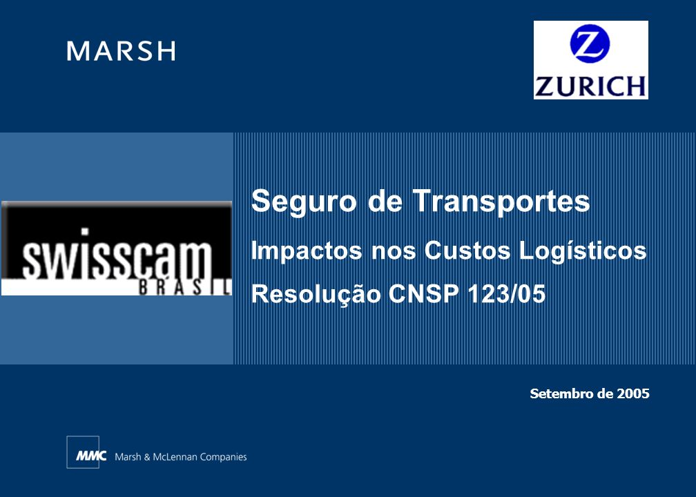 Seguro de Transportes Impactos nos Custos Logísticos