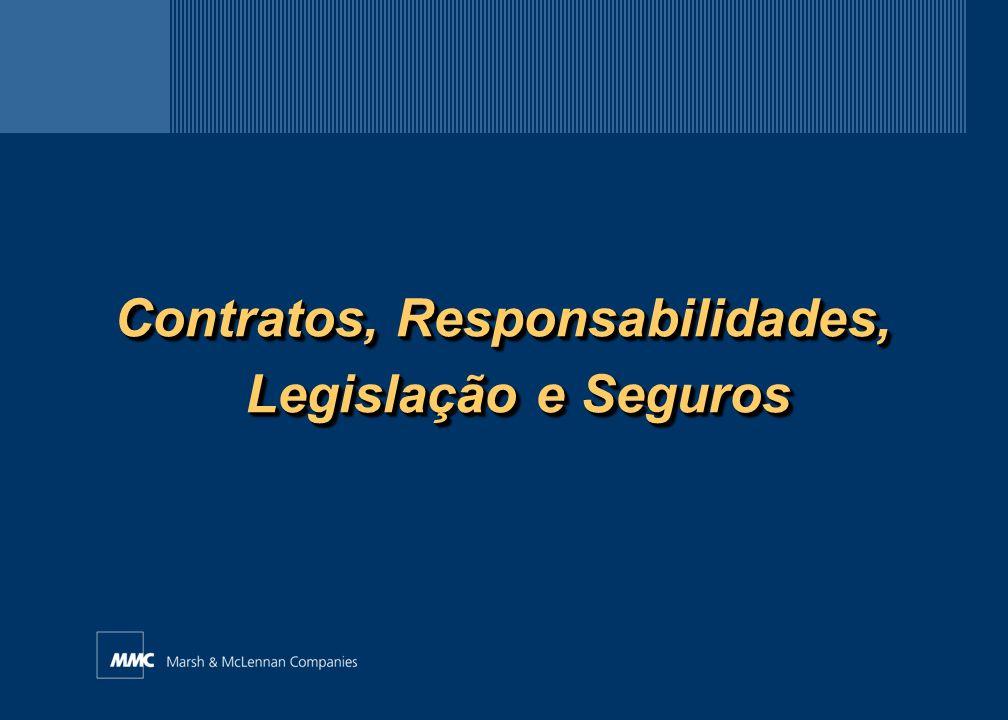Contratos, Responsabilidades, Legislação e Seguros