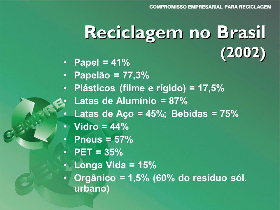 Reciclagem no Brasil (2002)