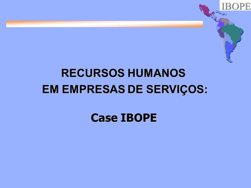 EM EMPRESAS DE SERVIÇOS: