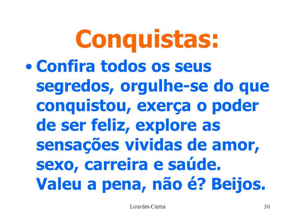 Conquistas: